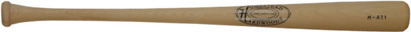Baseball Bats Maple Raw M-A71